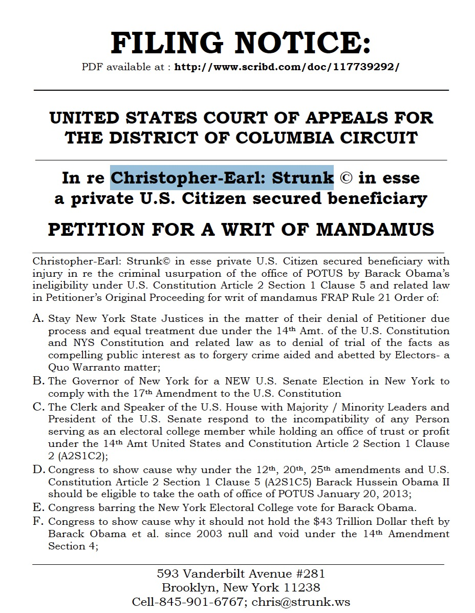 writ of mandamus an overview Writs of mandamus, for example, are legal actions – known as judicial remedies – that allows an applicant to file a complaint directly against uscis for unnecessary delays while situations.