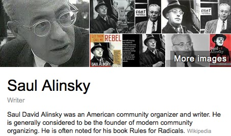 did hillary clinton do her college thesis on saul alinsky