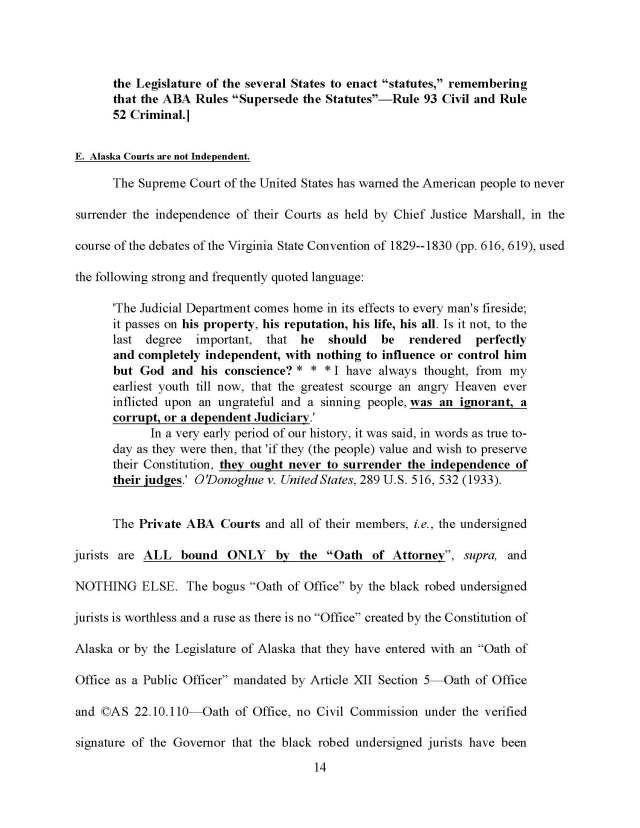 exposure of the ABA private courts Boyd Reply Brief rev 13 (02-24-14) ralph stuff_Page_20