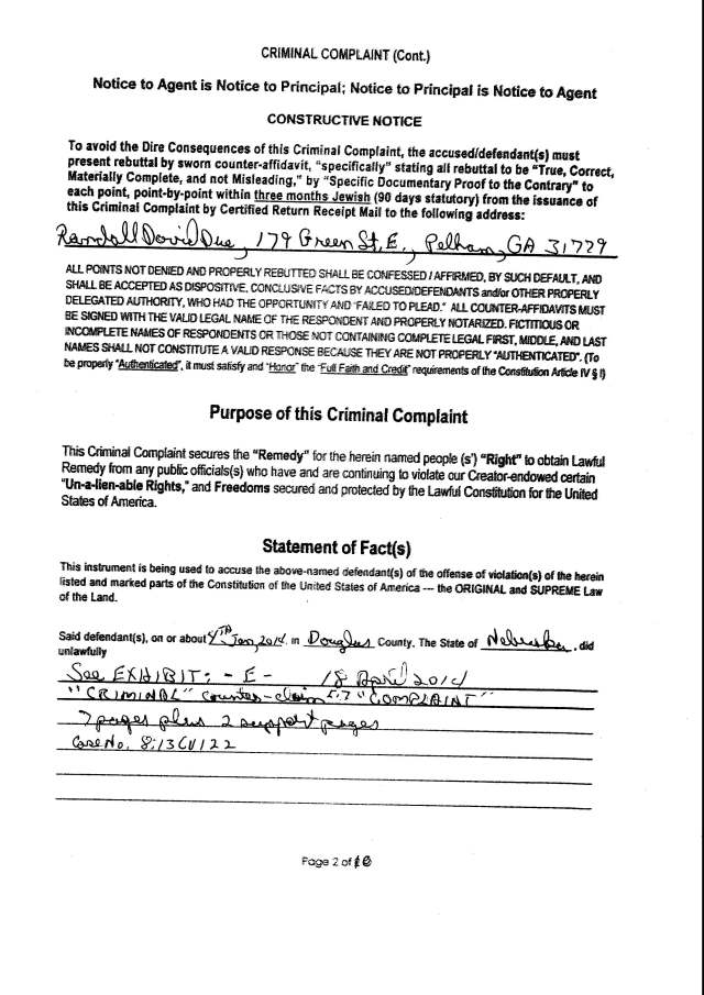 Env M 18, rec 4-28-2014 CC 1 Thalken, Keneally, Baily, Foxall, Hubbard, Capt West and Floor sgt. Corbett 4-23-2014, filed 5-1-2014_Page_04