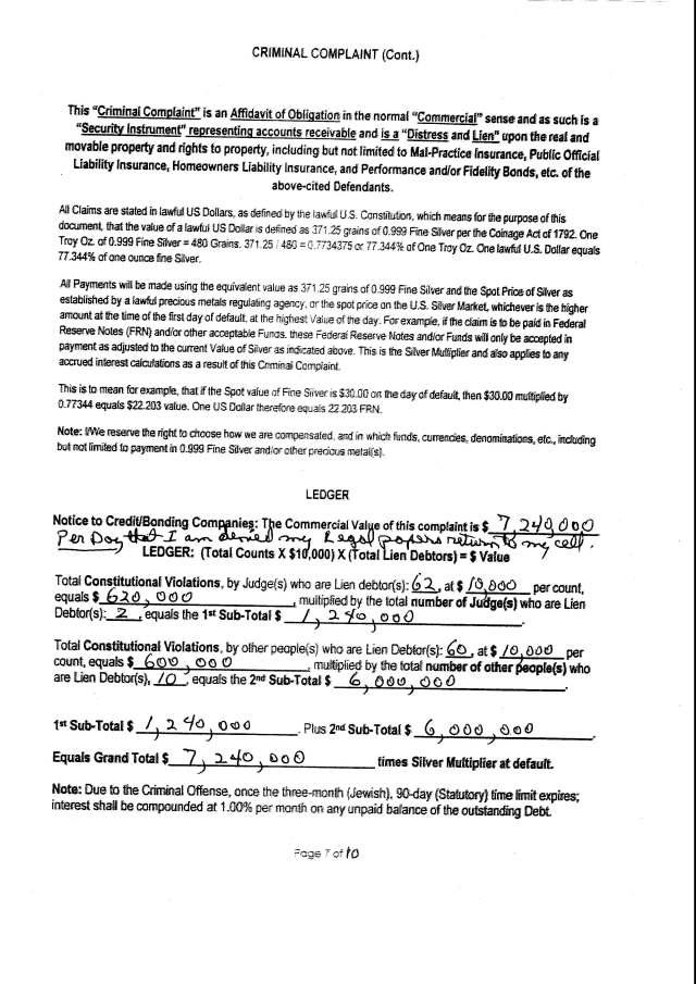 Env M 18, rec 4-28-2014 CC 1 Thalken, Keneally, Baily, Foxall, Hubbard, Capt West and Floor sgt. Corbett 4-23-2014, filed 5-1-2014_Page_09