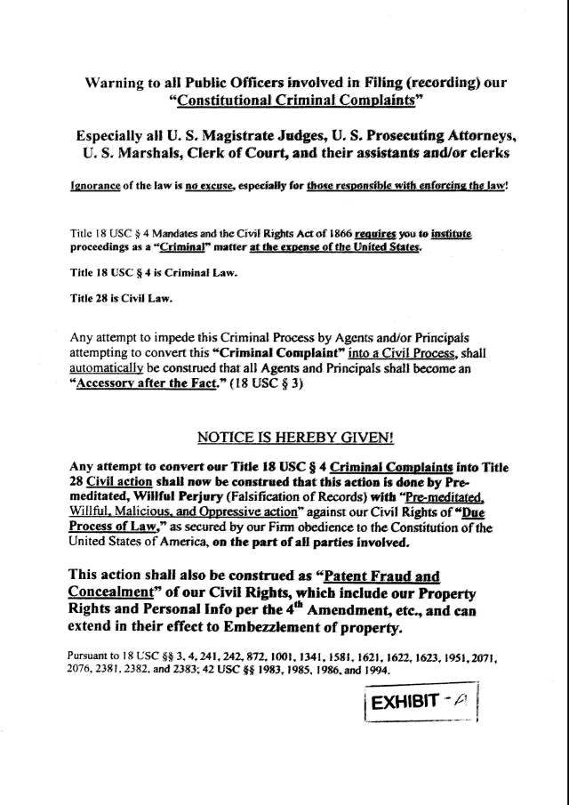 Env M 18, rec 4-28-2014 CC 1 Thalken, Keneally, Baily, Foxall, Hubbard, Capt West and Floor sgt. Corbett 4-23-2014, filed 5-1-2014_Page_13
