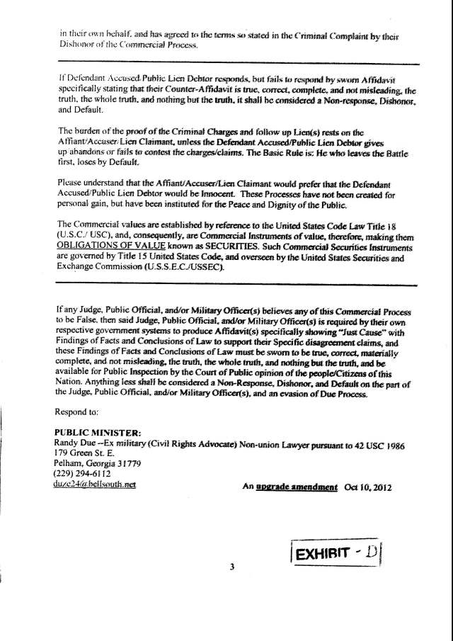 Env M 18, rec 4-28-2014 CC 1 Thalken, Keneally, Baily, Foxall, Hubbard, Capt West and Floor sgt. Corbett 4-23-2014, filed 5-1-2014_Page_20