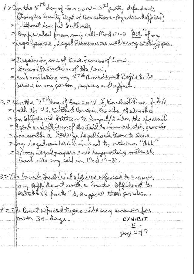 Env M 18, rec 4-28-2014 CC 1 Thalken, Keneally, Baily, Foxall, Hubbard, Capt West and Floor sgt. Corbett 4-23-2014, filed 5-1-2014_Page_22
