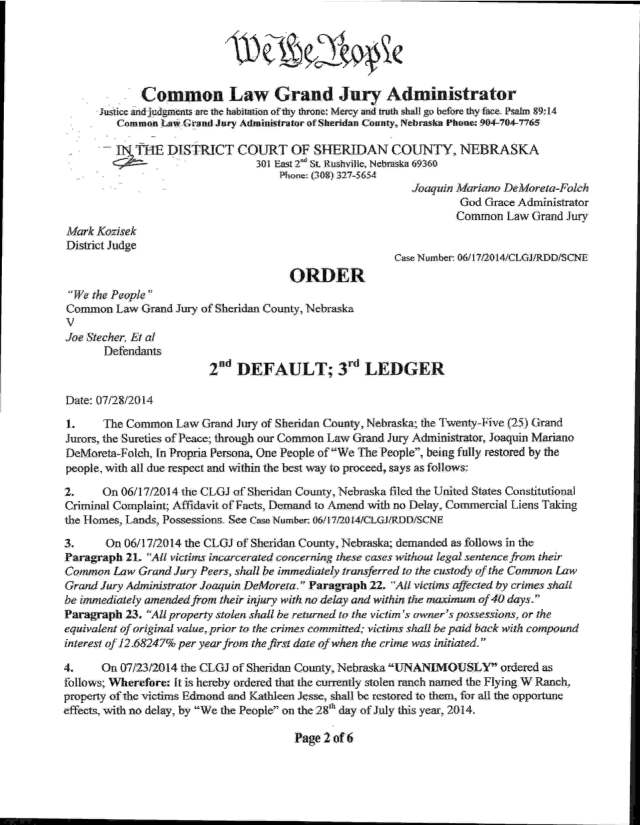 07-28-2014 Order to Restore Property and Kidnaped Prisoners _Page_02