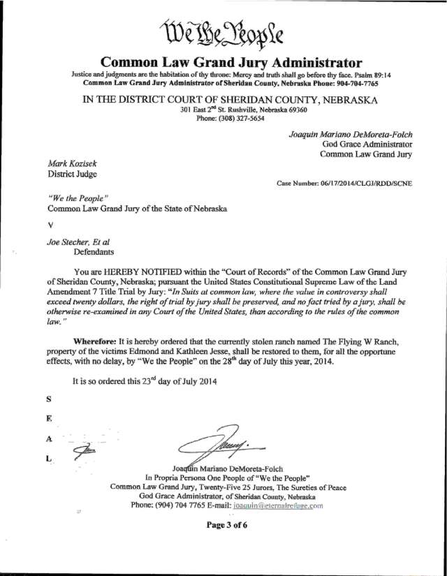07-28-2014 Order to Restore Property and Kidnaped Prisoners _Page_03