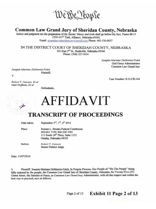 Joaquin 2014-12-6 Exhibit 11 CJGJ Affidavit transcript Randy_Page_02