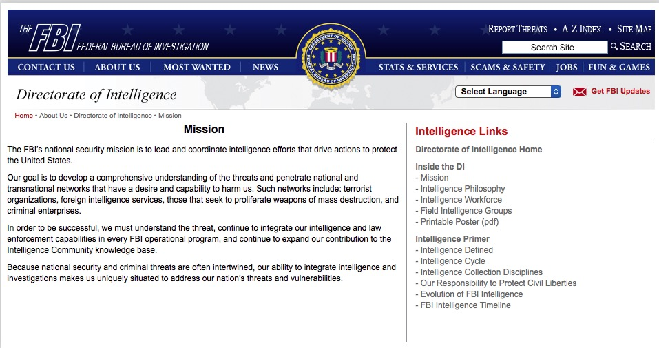 an analysis of the job description of a federal bureau investigation fbi agent The average salary for an intelligence analyst at federal bureau of investigation (fbi) is $60,000 per year job description for intelligence analyst.