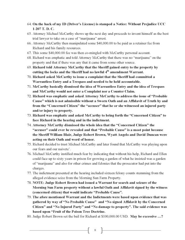 Affidavit (Commercial Lien) (EW Lexar #2) (Delta Court) CP_Page_08