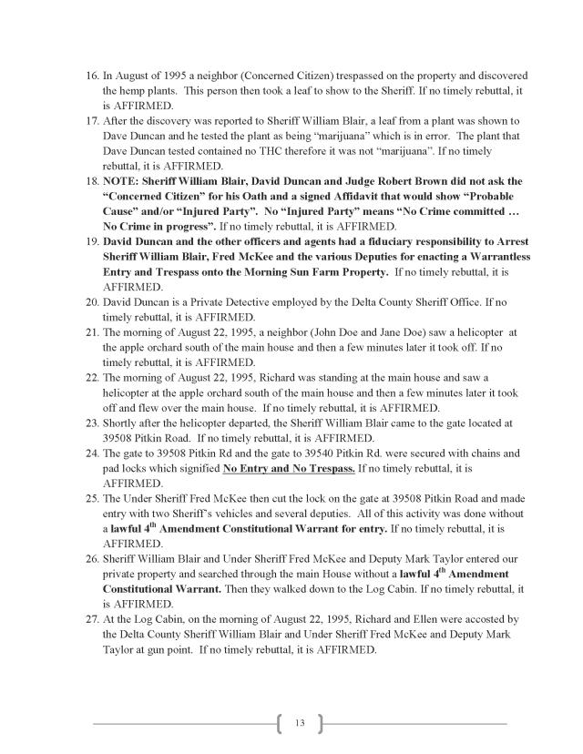 Affidavit (Commercial Lien) (EW Lexar #2) (Delta Court) CP_Page_13