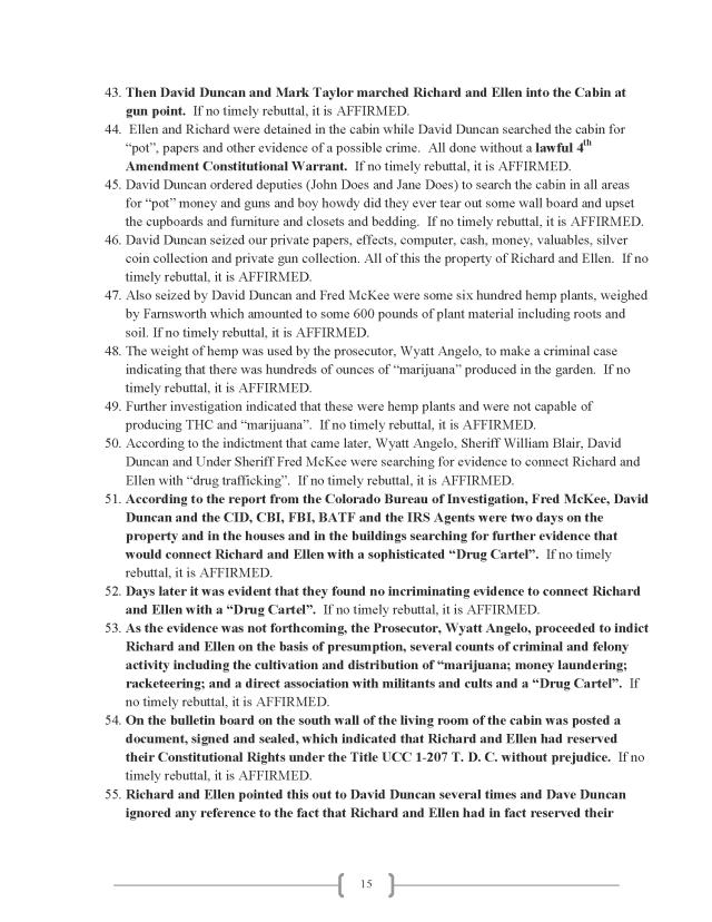 Affidavit (Commercial Lien) (EW Lexar #2) (Delta Court) CP_Page_15