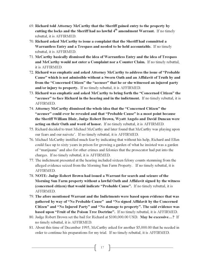 Affidavit (Commercial Lien) (EW Lexar #2) (Delta Court) CP_Page_17