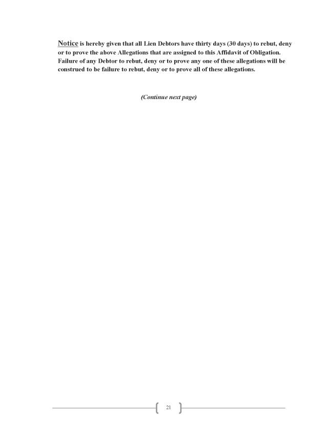 Affidavit (Commercial Lien) (EW Lexar #2) (Delta Court) CP_Page_21