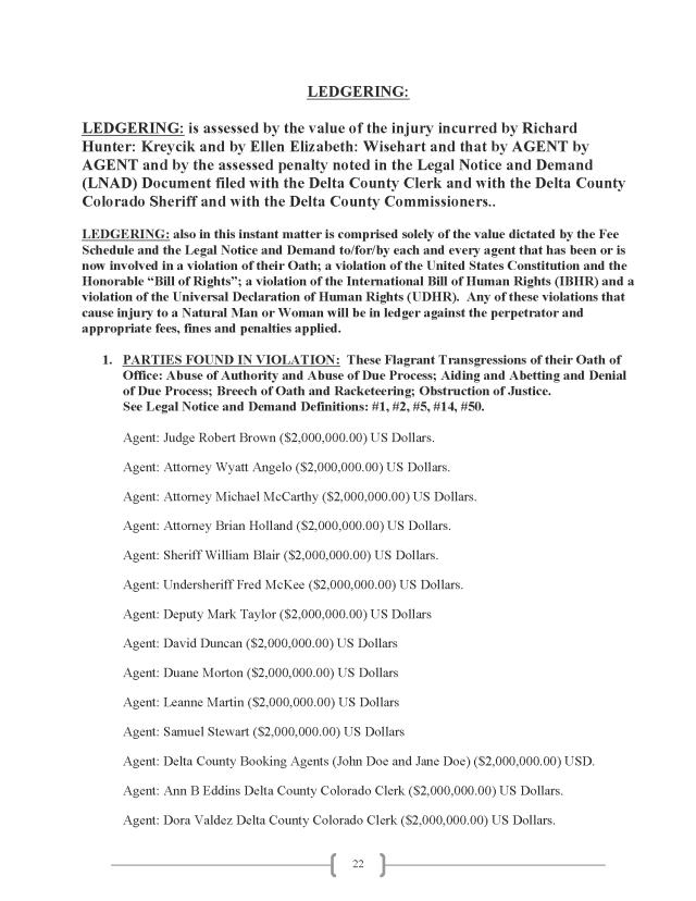 Affidavit (Commercial Lien) (EW Lexar #2) (Delta Court) CP_Page_22