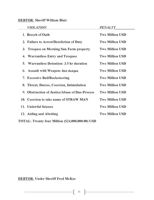 Affidavit (Commercial Lien) (EW Lexar #2) (Delta Court) CP_Page_31