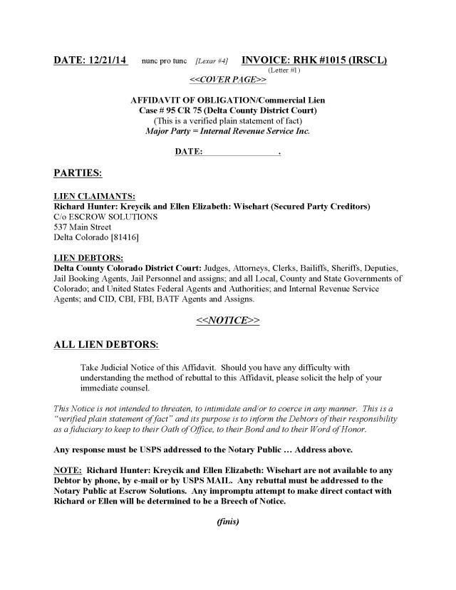 AFFIDAVIT Commercial Lien IRS KY (RHK ) 2015 (CP) (2)_Page_01