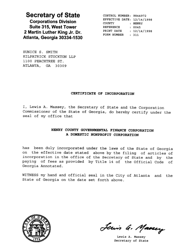 HCArticlesofIncorporation_Page_01