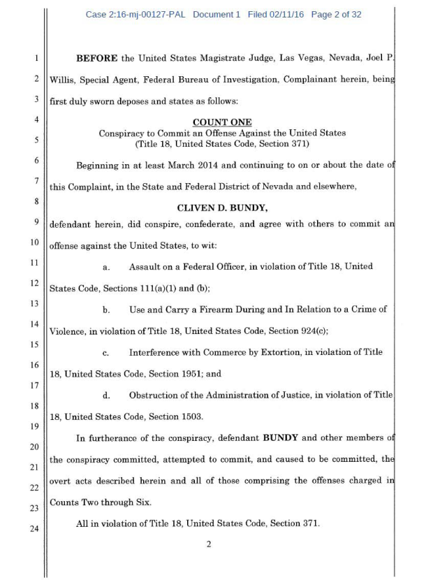 US Corp vs Cliven Bundy Complaint 02-11-2016_Page_02