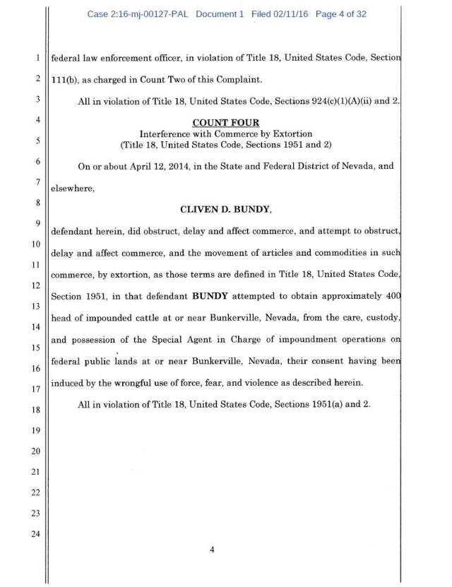 US Corp vs Cliven Bundy Complaint 02-11-2016_Page_04