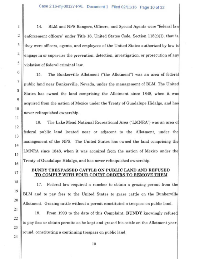 US Corp vs Cliven Bundy Complaint 02-11-2016_Page_10