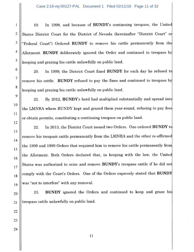 US Corp vs Cliven Bundy Complaint 02-11-2016_Page_11