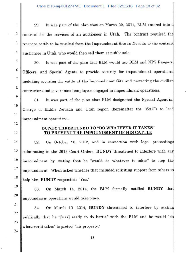 US Corp vs Cliven Bundy Complaint 02-11-2016_Page_13