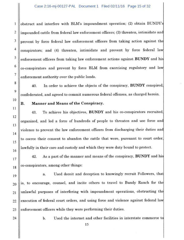 US Corp vs Cliven Bundy Complaint 02-11-2016_Page_15