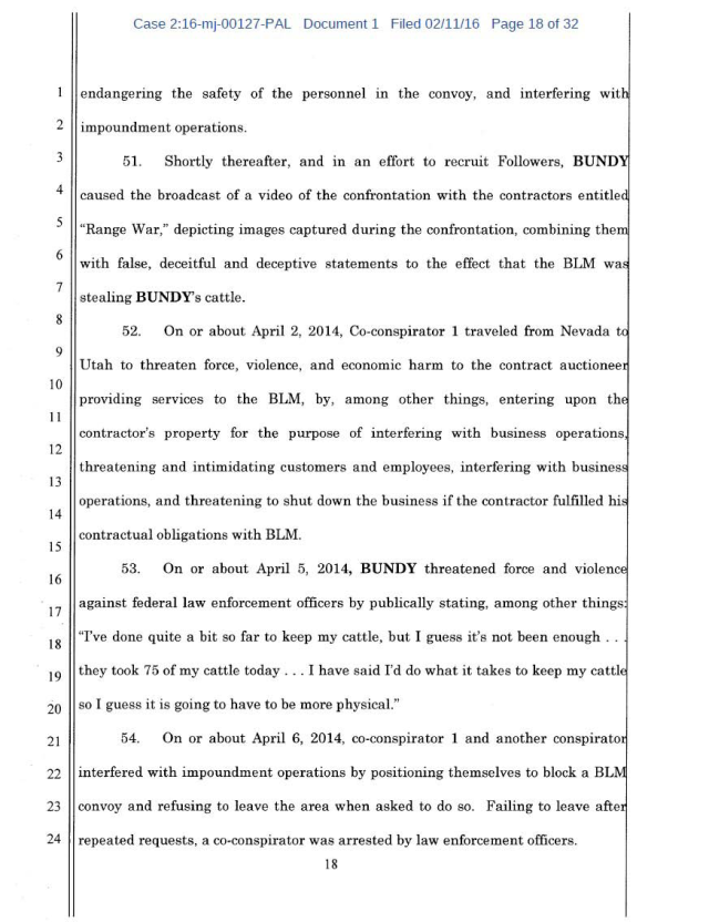 US Corp vs Cliven Bundy Complaint 02-11-2016_Page_18