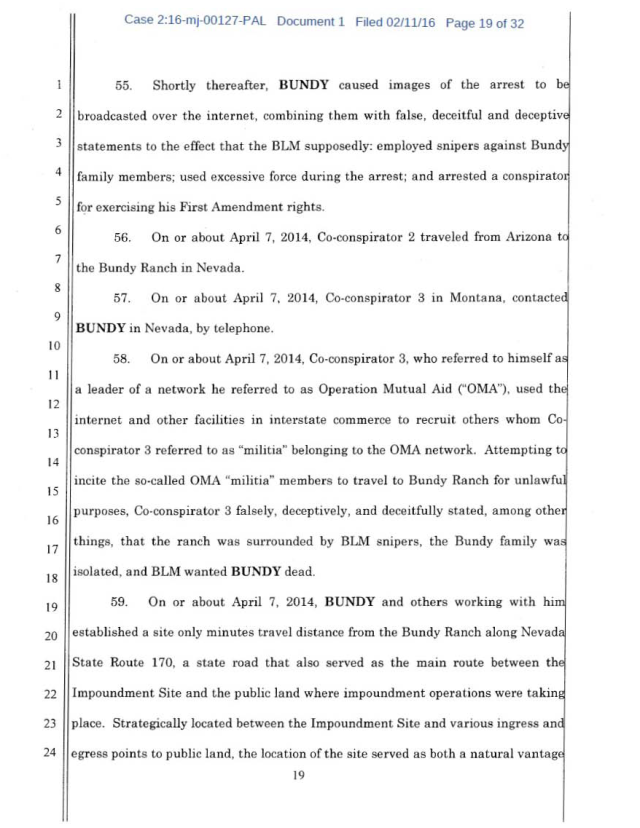 US Corp vs Cliven Bundy Complaint 02-11-2016_Page_19