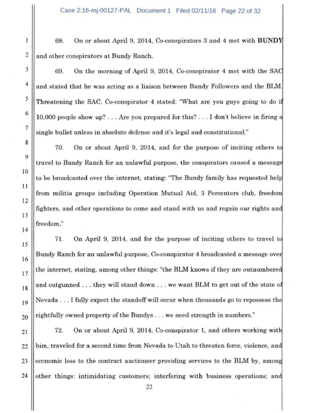 US Corp vs Cliven Bundy Complaint 02-11-2016_Page_22