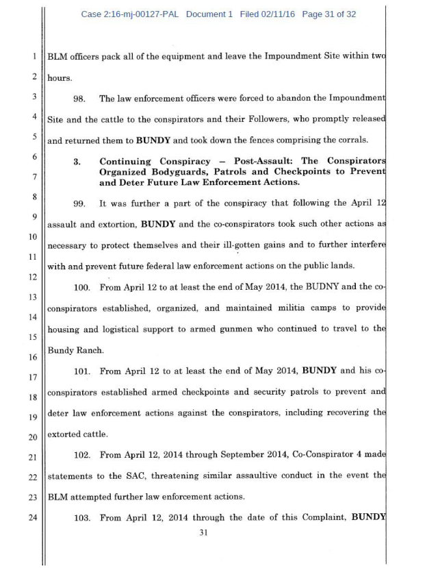 US Corp vs Cliven Bundy Complaint 02-11-2016_Page_31