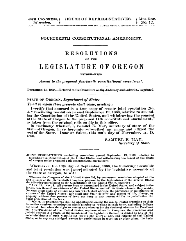 Oregon-House-Resolution-Rescinding-the-14th-Amendment-Ratification-due-to-Fraud-and-Usurpation 2016_03_02_15_10_34_Page_1
