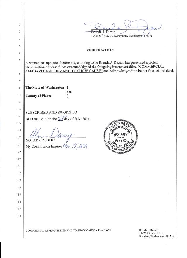 Affidavit and Demand to Show Cause_filed_Page_5