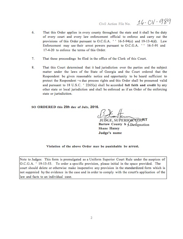 STALKING EX PARTE TEMPORARY PROTECTIVE ORDER_Page_2