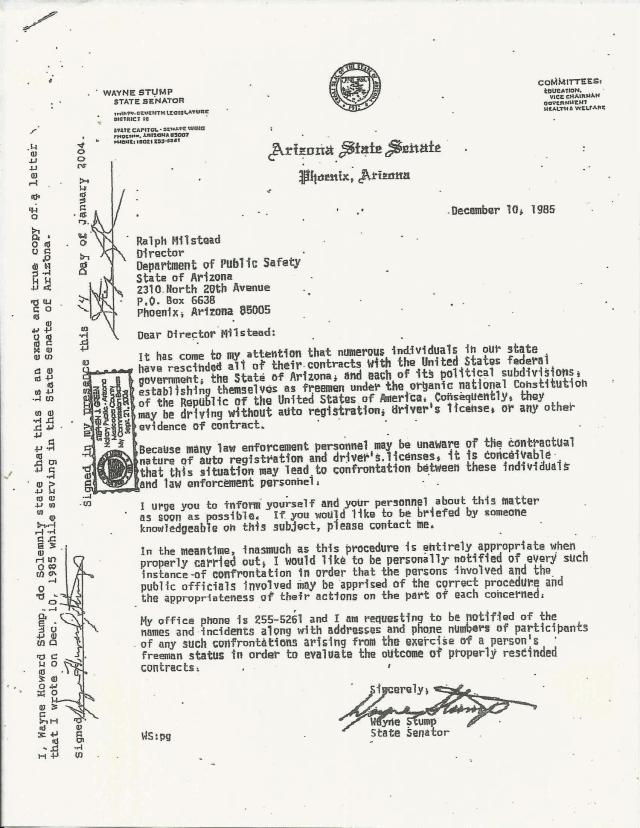 senator-wayne-stump-letter